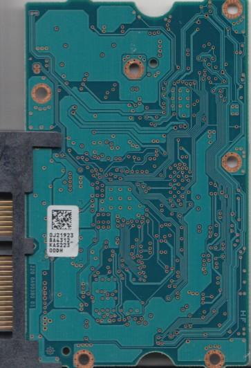 HCS5C3020BLE630, 0J21923 BA4312_, 9F14320, MRCAB0, Toshiba SATA 3.5 PCB