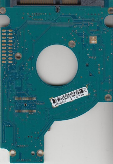 ST9160412ASG, 9PSG4C-031, 0002SDM1, 100563947 D, Seagate SATA 2.5 PCB