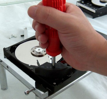 "Professional Hard Drive Platter Swap, Removal, Exchange Tool for 3.5"" and 2.5"""