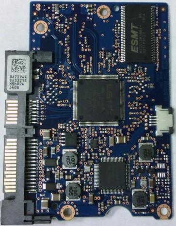 HDS721032CLA362, 0A72944 BA3321B, 0F10980, JPT3GC, Hitachi SATA 3.5 PCB