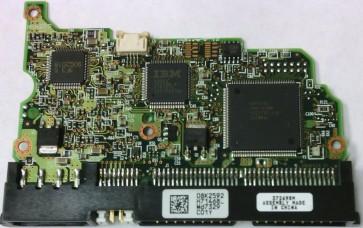 IC35L060AVV207-0, 08K2592 H71468_, PN 13G0221, Hitachi 40GB IDE 3.5 PCB