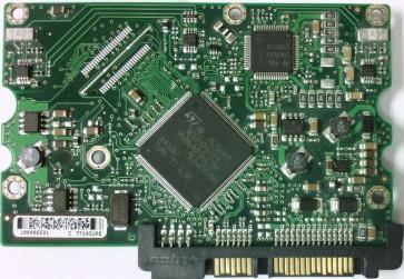 ST3750640AS, 9BJ148-034, 3.ADG, 100406531 C, Seagate SATA 3.5 PCB