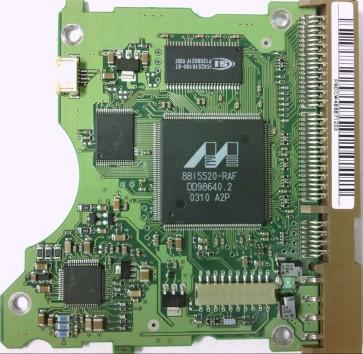 SV0602H, SV0602H, 100-09, BF41-00058A, Samsung IDE 3.5 PCB