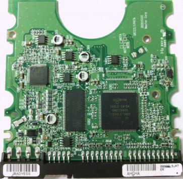 6H500R0, HA3D1DD0, NGBB, EAGLE C4-D4 040124600, Maxtor IDE 3.5 PCB
