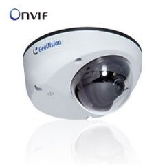Geovision 120-MDR320-000 Mini Fixed Rugged Dome, Gv-Mdr320, 3MP, H.264, Low Lux