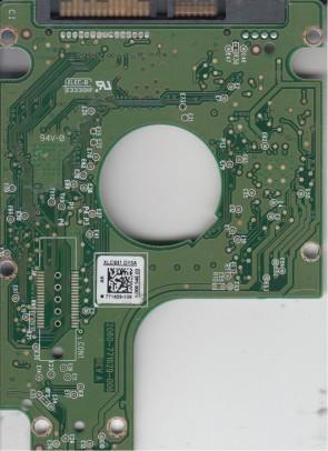 WD5000BPKX-00HPJT0, 771629-106 AK, WD SATA 2.5 PCB