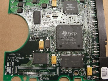 91360U4, MA5409S0, KMBA, DSP 040100400, Maxtor IDE 3.5 PCB