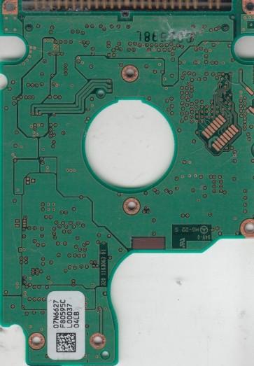 DJSA-210, 07N6627 F80595C, PN 07N6453, IBM 10GB IDE 2.5 PCB