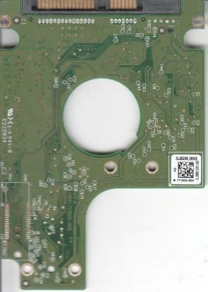 WD1600BUCT-63TWBY0, 771820-900 AE, WD SATA 2.5 PCB