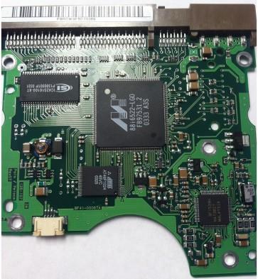 SP0802N, BF41-00067A, FW 0, Samsung 80GB IDE 3.5 PCB