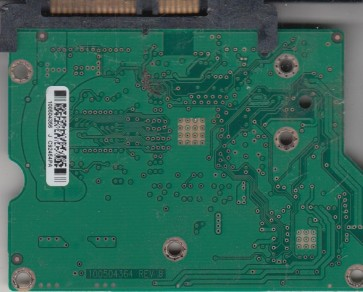ST3160813AS, 9FZ181-301, CC2F, 100504356 J, Seagate SATA 3.5 PCB