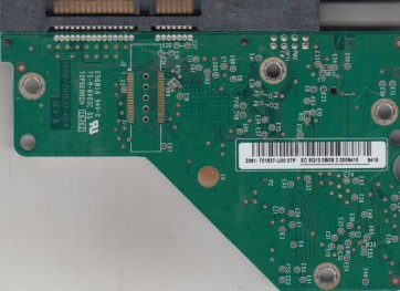 WD2502ABYS-18B7A0, 2061-701537-U00 07P, Dell SATA 3.5 PCB