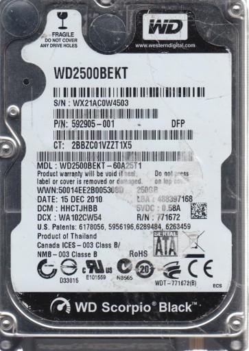 WX21AC0W4503