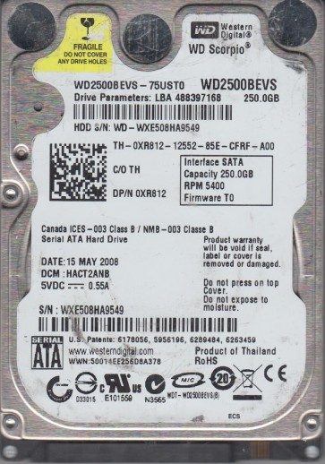 WXE508HA9549