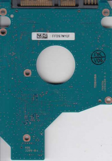 MK2555GSX, HDD2H24 C WL01 S, G002439-0A, Toshiba 250GB SATA 2.5 PCB
