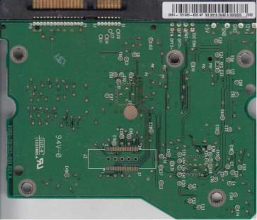 WD5000YS-01MPB0, 2061-701383-E00 AF, WD SATA 3.5 PCB