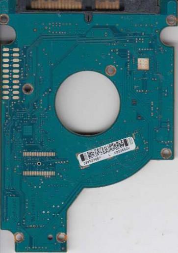 ST9320423AS, 9HV14E-022, 0006HPM1, 100537087 L, Seagate SATA 2.5 PCB