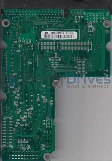 AC34300-00LB, 61-600707-001 E, WD IDE 3.5 PCB