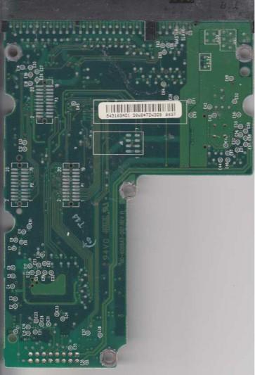 WD75AA-00BAA0, 61-600843-103 AD1, WD IDE 3.5 PCB