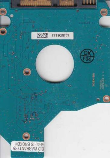 MK2555GSX, HDD2H24 F VL01 S, G002439-0A, Toshiba 250GB SATA 2.5 PCB