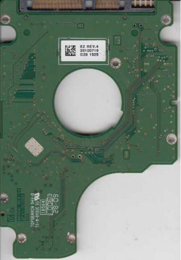 HM160HI, HM160HI, BF41-00328A, FW HH100-09, Samsung 160GB SATA 2.5 PCB
