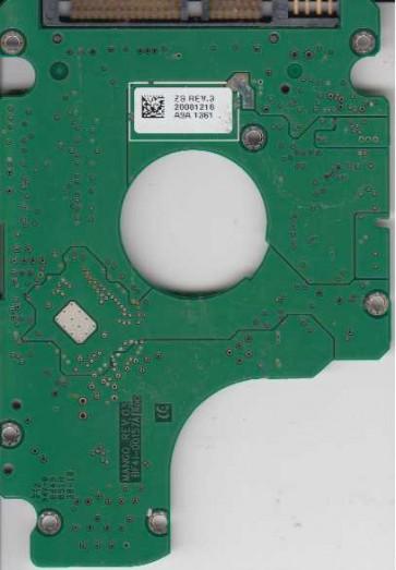 HM320JI, FW 2SS00_03, BF41-00157A, Samsung 320GB SATA 2.5 PCB