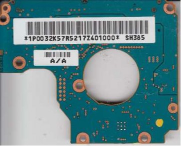 HTC426040G9AT00, PN 08K1541, SH385, Hitachi 40GB IDE 1.8 PCB