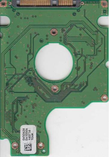 HTS541612J9SA00, PN 0A53429, 0A50426 SA1550A, Hitachi 120GB SATA 2.5 PCB