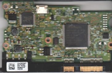 HDS728080PLA380, 0A29287 BA1836, PN 0A31048, Hitachi 80GB SATA 3.5 PCB