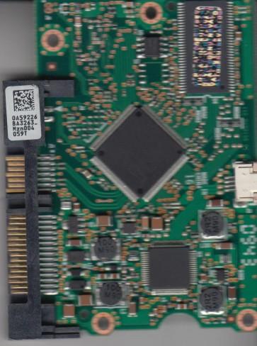 HDT721032SLA380, 0A59226 BA3263, PN 0A38718, Hitachi 320GB SATA 3.5 PCB