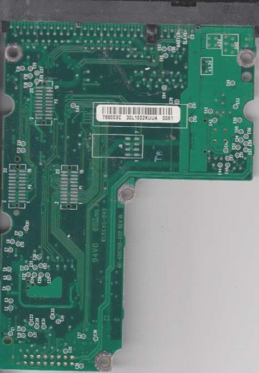 WD205AA-00AAA2, 61-600788-003 C, WD IDE 3.5 PCB