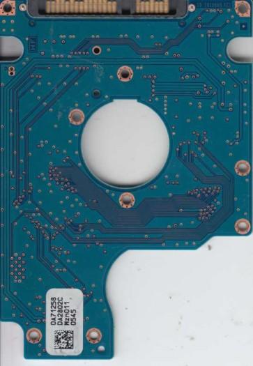 HTS545016B9A300, PN 0A70431, 0A71258 DA2802C, Hitachi 160GB SATA 2.5 PCB