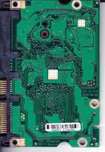 ST3500320AS, 9BX154-568, SD81, 100468974 H, Seagate SATA 3.5 PCB