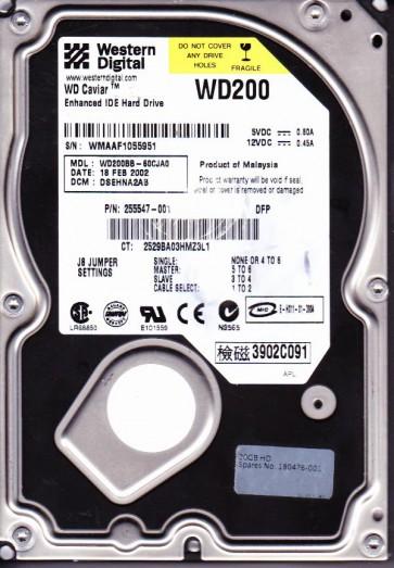 WD200BB-60CJA0, DCM DSEHNA2AB, Western Digital 20GB IDE 3.5 Hard Drive