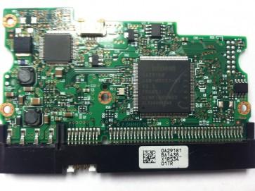 HDT722516DLAT80, 0A29181 BA1438, PN 0A31635, Hitachi 164GB IDE 3.5 PCB