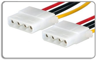 IDE Male to Male Long Power Cable, 80 cm, 32 inches, PC-3000 Supported