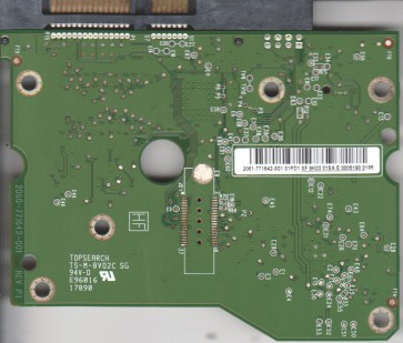 WD20EARS-00S8B1, 2061-771642-X01 01PD1, WD SATA 3.5 PCB