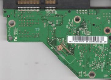 WD1600AAJS-00WAA0, 2061-701552-G00 02P, WD SATA 3.5 PCB