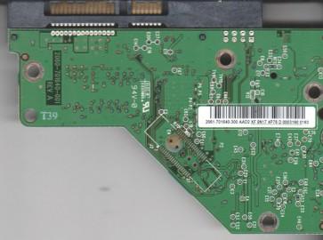 WD5000AVDS-63U7B0, 2061-701640-300 AAD2, WD SATA 3.5 PCB