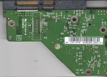 WD1001FALS-00K1B0, 2061-771591-200 09P, WD SATA 3.5 PCB
