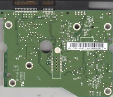 WD2001FASS-00W2B0, 2061-771624-A03 04P, WD SATA 3.5 PCB