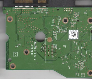 WD1502FAEX-007BA0, 2061-771624-A03 BC, WD SATA 3.5 PCB
