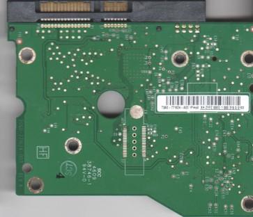 WD2001FASS-00W2B0, T3A0-771624-A03 1Pmod, WD SATA 3.5 PCB