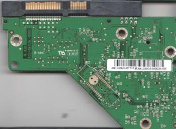 WD1002FAEX-00Z3A0, 2061-701640-X07 01P, WD SATA 3.5 PCB