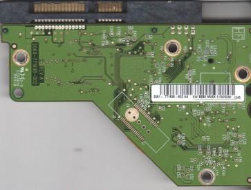 WD30EZRS-00J99B0, 2061-771698-802 AA, REV A, WD SATA 3.5 PCB