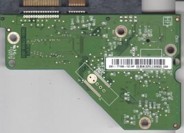 WD20EARS-00MVWB0, 2061-771698-102 04P, REV P1, WD SATA 3.5 PCB