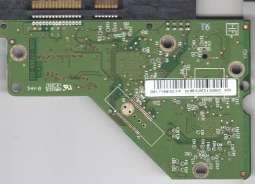 WD20EARS-60MVWB0, 2061-771698-002 01P, WD SATA 3.5 PCB