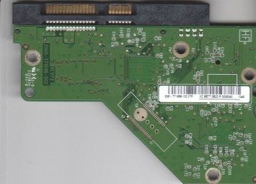 WD20EARS-00MVWB0, 2061-771698-102 07P, REV P2, WD SATA 3.5 PCB