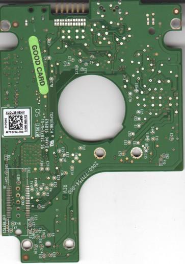 WD2500BMVV-11SXZS1, 701754-700 01PD10, WD USB 2.5 PCB