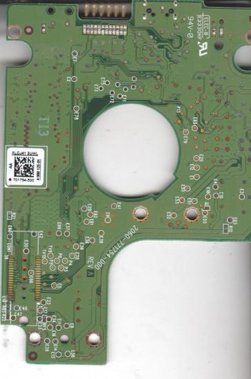 WD3200BMVV-11SXZS1, 701754-500 AA, REV A, WD USB 2.5 PCB